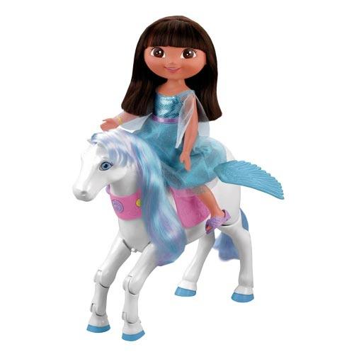 Dora The Explorer - Dora Saves the Snow Princess - Prance & Fly Pegasus