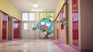 The Amazing World of Gumball The Triangle Gumball thrown out of locker room