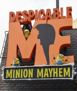 Despicable Me: Minion Mayhem (Theme Parks)