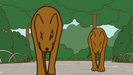 Pusheen's valentine rottweiler growl (3)