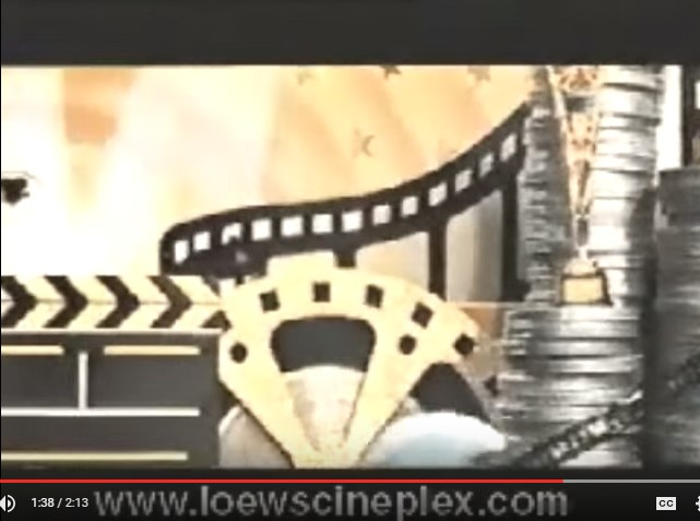 Loews Theatres: A Brief History of Motion Pictures (1998)