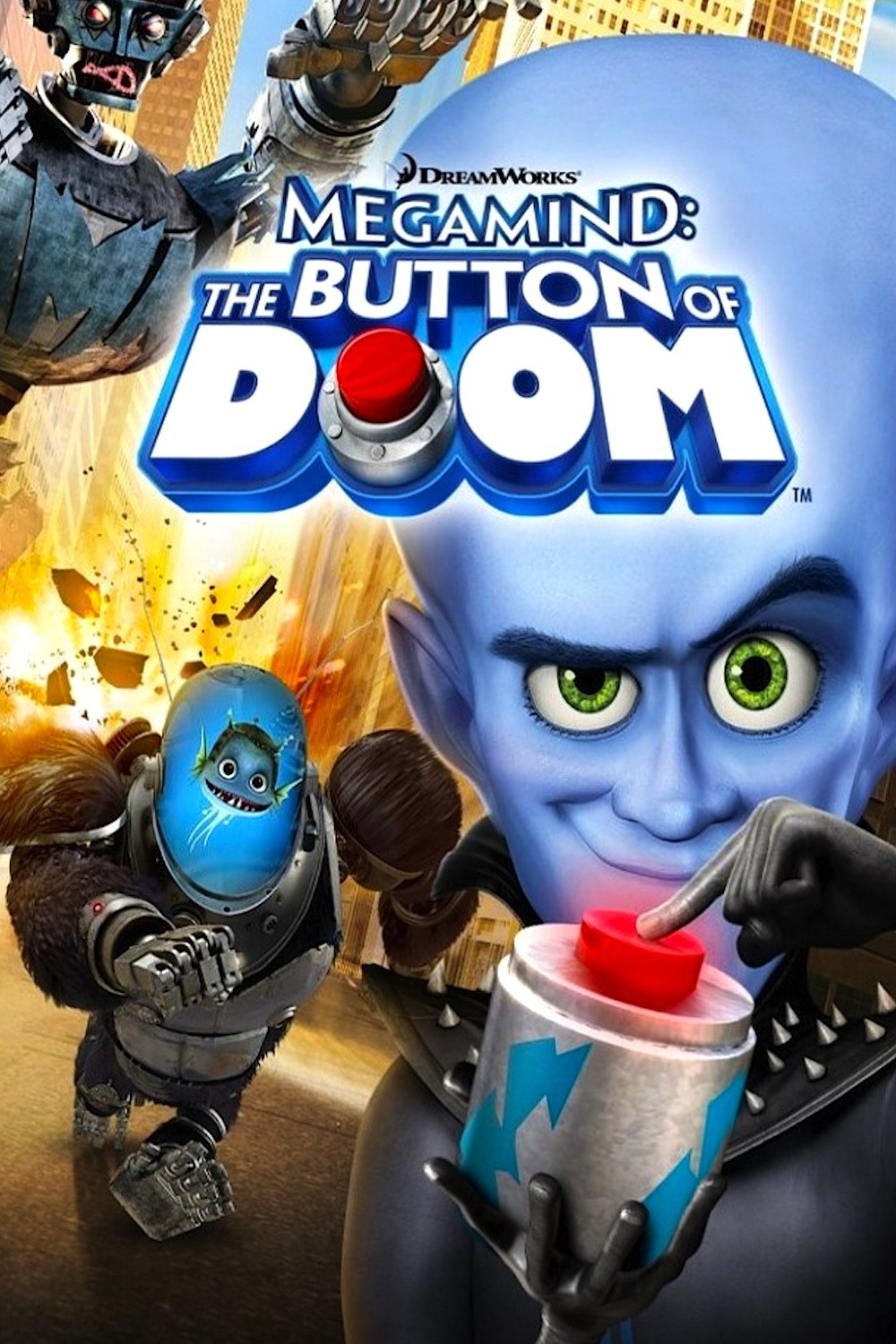 Megamind: The Button of Doom (2011) (Shorts)