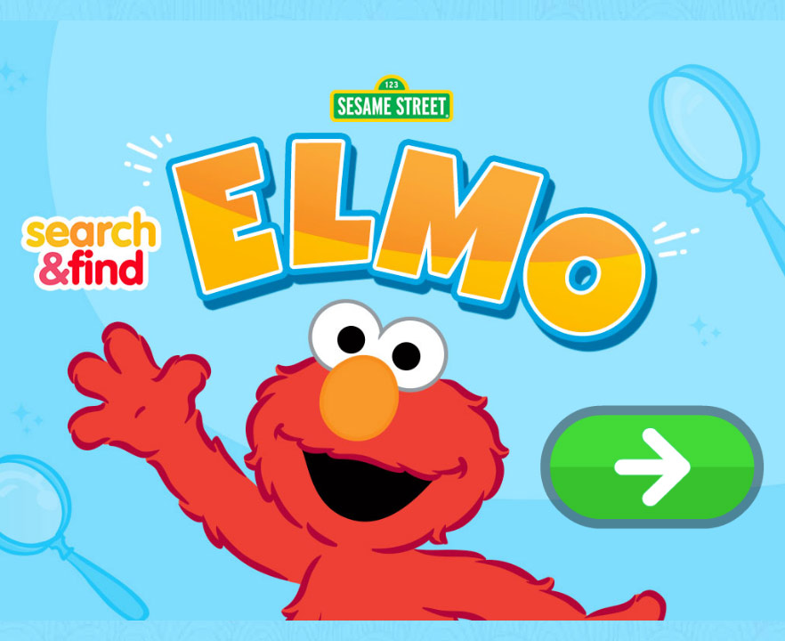 Sesame Street: Search and Find: Elmo (Online Games)