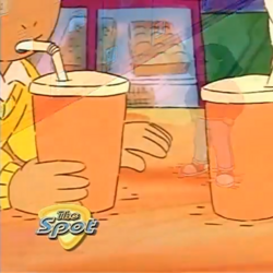 Sound Ideas, EATING - SIPPING SODA THROUGH A STRAW, BOTTOM OF GLASS, HUMAN, SOFT DRINK, DRINKING