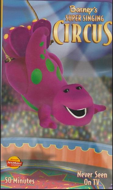 Barney's Super Singing Circus (2000) (Videos)
