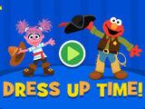 Sesame Street: Dress Up Time! (Online Games)