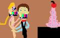 (Censor Beeps) Shoot And Run Western Lisa's Birthday 4
