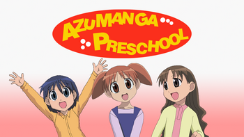 Azumanga Preschool Fan-Made Poster.png
