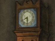 CLOCK, GRANDFATHER - WESTMINSTER TWELVE O'CLOCK CHIME Little Bear