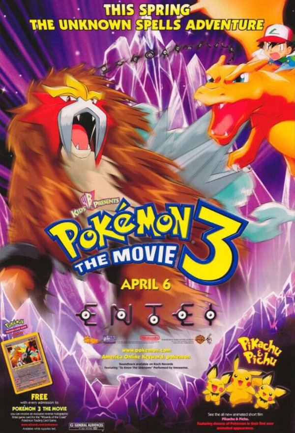 Pokémon 3 The Movie (2000)