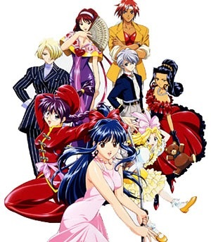 Sakura Wars: The Radiant Gorgeous Blooming Cherry Blossoms