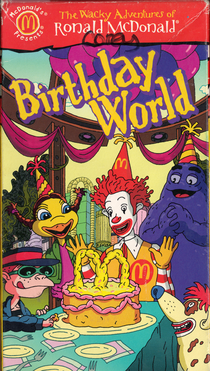 The Wacky Adventures of Ronald McDonald: Birthday World (2001)