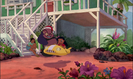 Lilo and Stitch SCI FI - JETSONS SPACE CAPSULE PASS BY, 01