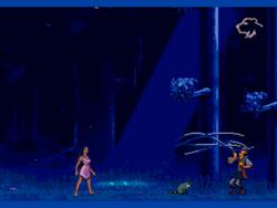 Pocahantas Sega Genesis Video Game Hollywoodedge, Screams 5 Man InsaneT PE134601.png