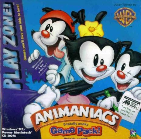 Animaniacs Game Pack