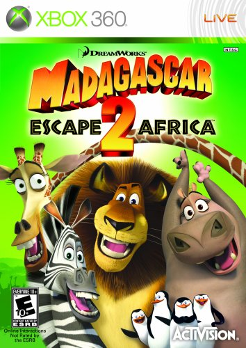 Madagascar: Escape 2 Africa (2008) (Video Game)
