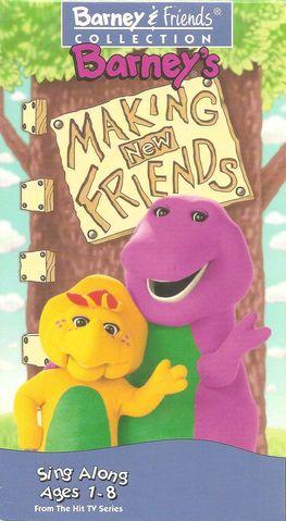 Barney: Making New Friends (1995 video)
