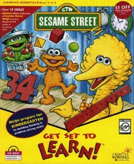 Sesame Street: Get Set to Learn! (1996) (PC Game)