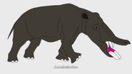 100 Prehistoric Beasts Hollywoodedge, Elephant Single Shor AT043403
