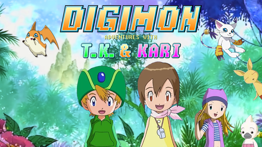 Digimon Adventures With T.K. & Kari