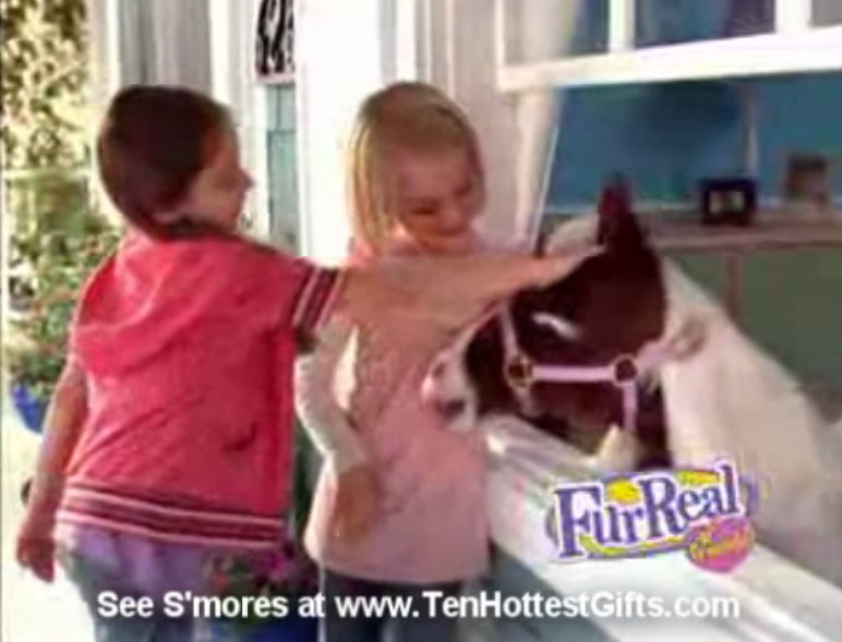 FurReal Friends Smores Pony Demonstration (2008)