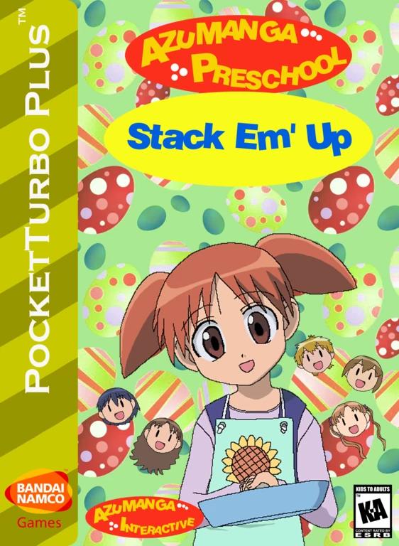 Azumanga Preschool: Stack Em' Up