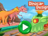 Dinosaur Train: Dinocar Designer (Online Games)