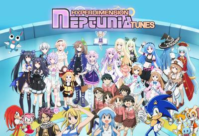 Hyperdimension Neptunia Tunes Poster.png