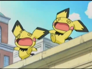 Pichu Bros in Party Panic Anime Surprised Sound
