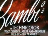 Bambi (1942) (Trailers)