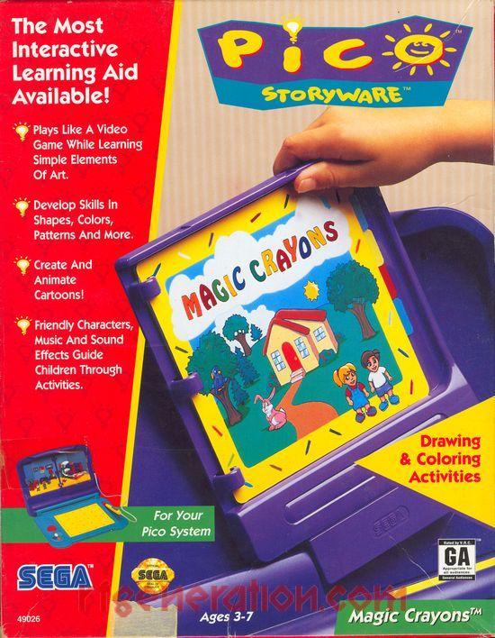 Magic Crayons (Video Game)