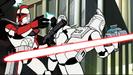 Star Wars Clone Wars CHAPTER 3 Hollywoodedge, Synth Gun Shot Ricoch PE206601 or Sound Ideas, GUN, LASER - LASER GUN SINGLE SHOT 01 (low-pitched)