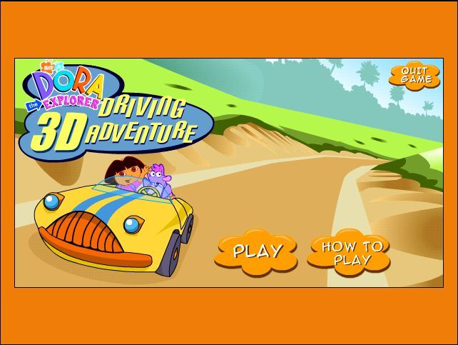 Dora's 3D Driving Adventure