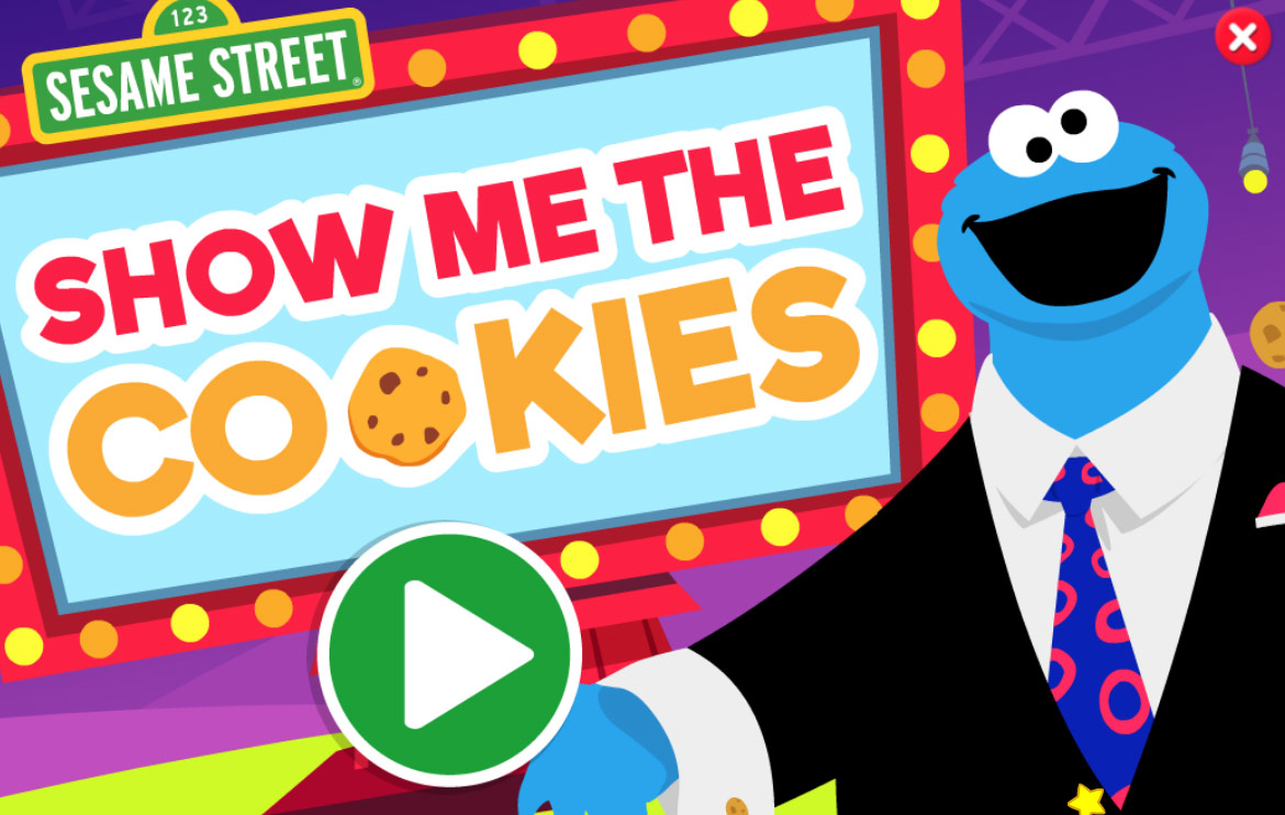 Sesame Street: Show Me the Cookies (Online Games)