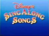 Disney's Sing Along Songs