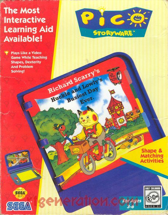Richard Scarry's Huckle and Lowly's Busiest Day Ever (Video Game)
