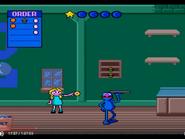 Sesame Street Counting Cafe Sega Genesis Video Game Sound Ideas, ZIP, CARTOON - SHARP ZIP,