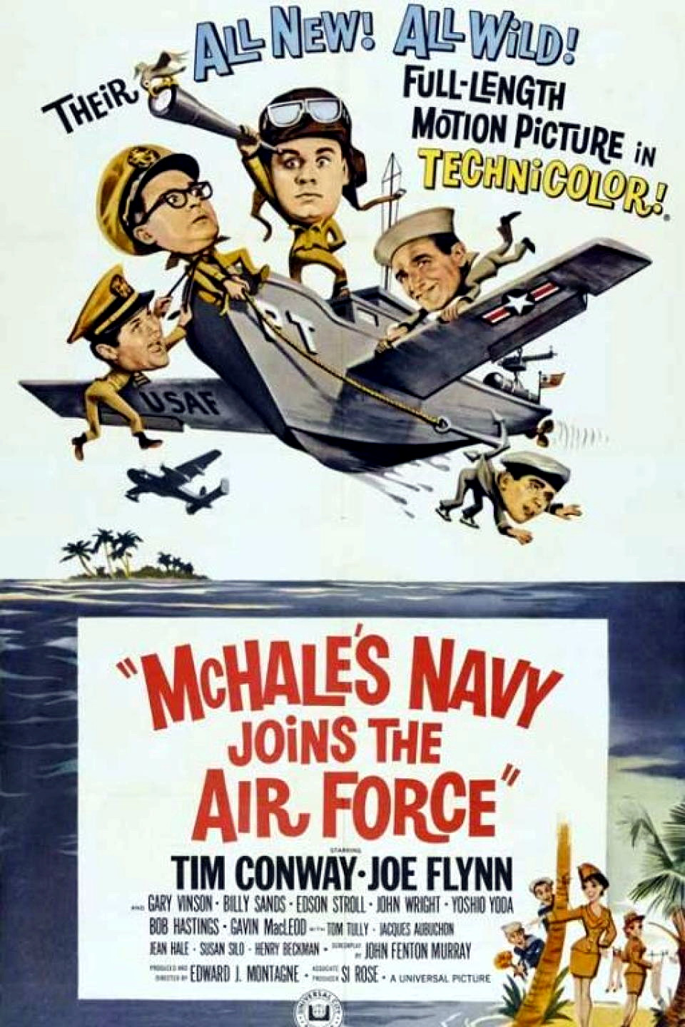McHale's Navy Joins the Air Force (1965)