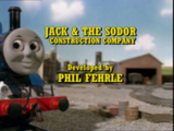 Jack and the Sodor Construction Company