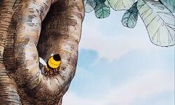 Winnie the Pooh and the Honey Tree Bee Trumpet.jpg