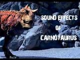 Carnotaurus roars