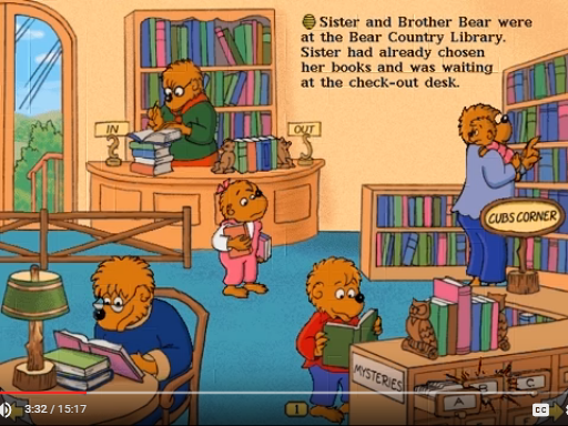 Living Books: The Berenstain Bears In The Dark