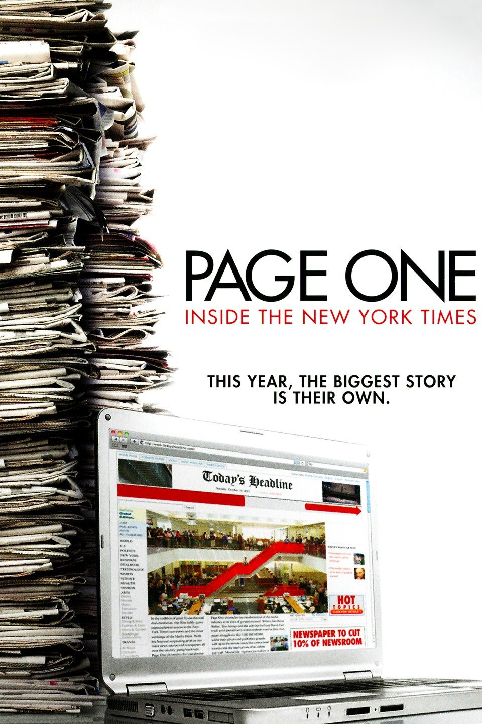 Page One: A Year Inside the New York Times (2011)