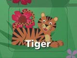 Sound Ideas, TIGER - LOUD GROWLS, ANIMAL, CAT