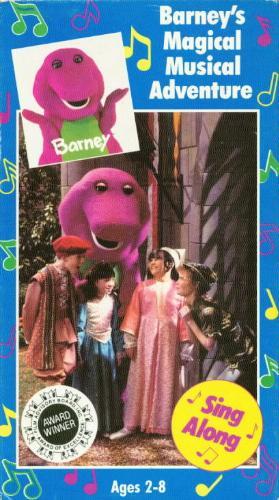 Barney - Barney's Magical Musical Adventure (1992 video)