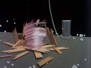 Looney Tunes Cartoons TAZ SPIN 16