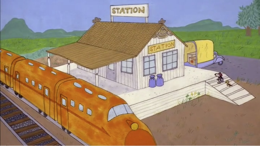 Valentino Train Yard Effects