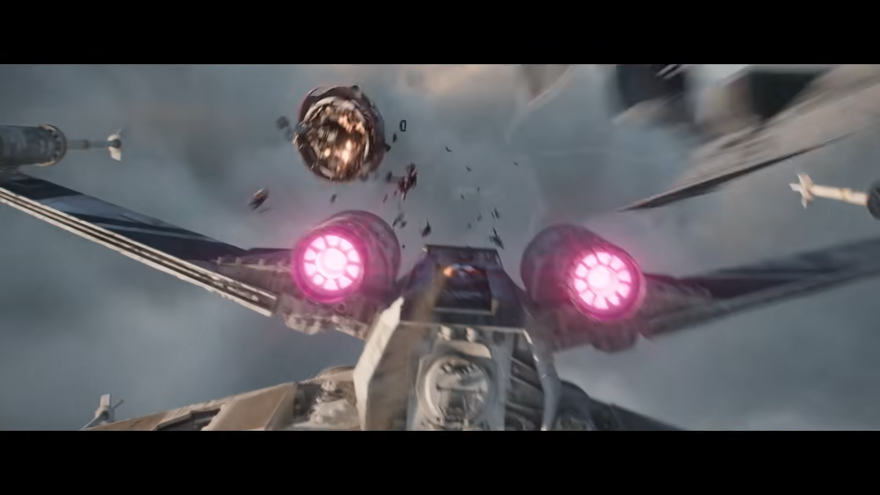 George Lucas Astromech Critical Yell