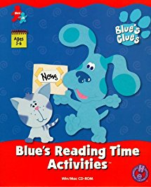 Blue's Reading Time Activities (2000) (PC Game)