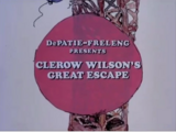 Clerow Wilson's Great Escape (1974)
